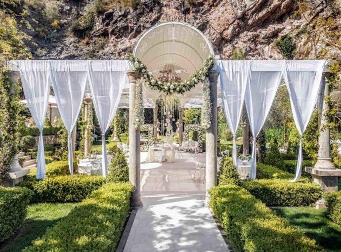 Matrimonio in giardino: il rito in villa
