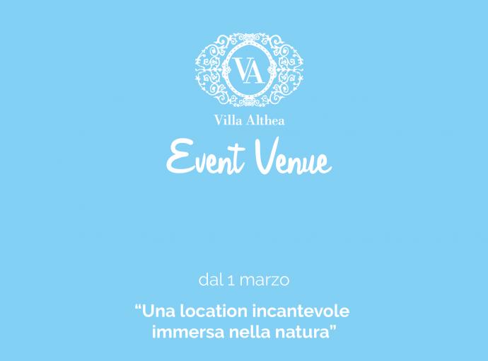 Event Venue: dal 1° marzo su i nostri social